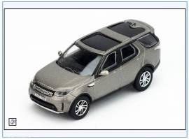 DIS5001 Land Rover New Discovery 5, silber, Oxford 1:76, NEU 2/2018 - Bild vergrößern