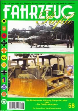 Fahrzeug-Profile 58: US Army Europe in 1981-Divisionstruppen - Bild vergrößern