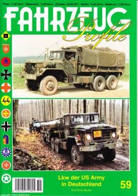 Fahrzeug-Profile 59: Lkw der US Army in Deutschland - Bild vergrößern
