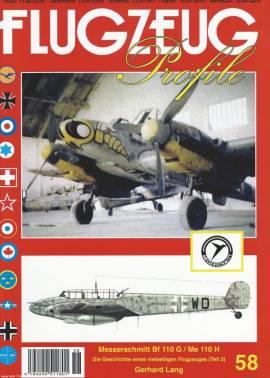 FP-58 Messerschmitt Bf-110 G / Me-110 H, Flugzeug-Profile 58, NEU 9/2016 - Bild vergrößern