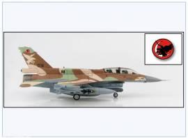 HA3873 F-16D Barak Israel Air Force 109. Squ. 2006, Hobbymaster 1:72, NEU 4/20 - Bild vergrößern
