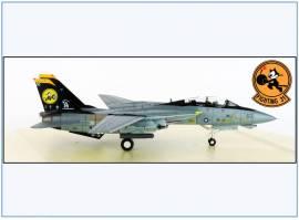 !A HA5232 Grumman F-14D Tomcat US NAVY -Tomcatters- 2006,Hobbymaster 1:72,NEU 4/21 - Bild vergrößern