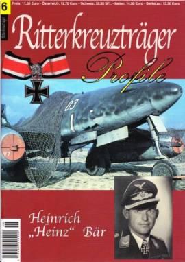 RT-06 Heinrich -Heinz- Bär, Ritterkreuzträger-Profile - Bild vergrößern