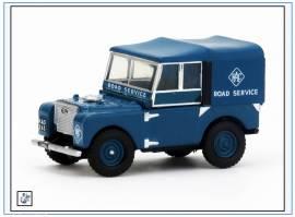 !LAN180006 Land Rover Series I 80 RAC Road Service,Oxford 1:76,NEU 6/18 - Bild vergrößern