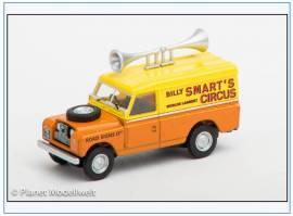 LAN2003 Land Rover Ser.II LWB Billy Smart's Circus, Oxford 1:76, NEU - Bild vergrößern