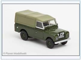 LAN2011 Land Rover Series II LWB Pritsche&Plane,bronzegrün, Oxford 1:76, NEU 2/2015 - Bild vergrößern