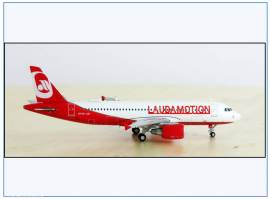 !LH4100 Airbus A320 LAUDAMOTION, JC-Wings 1:400, NEU - Bild vergrößern