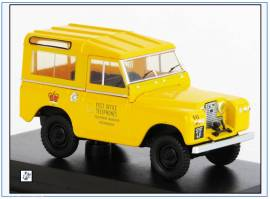 ! LR2S004 Land Rover SII SWB POST OFFICE TELEPHONES; Oxford 1:43, NEU 11/2019 - Bild vergrößern