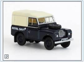 !LR3S004 Land Rover Series III SWB Pritsche/Plane, ROYAL NAVY, blau,Oxford 1:76, NEU 6/2019 - Bild vergrößern