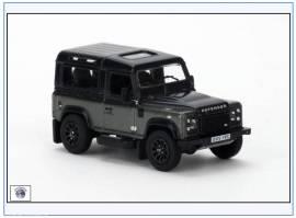 !LRDF009 Land Rover Defender 90, grau,Oxford 1:76,NEU 10/2016 - Bild vergrößern