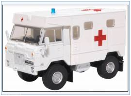 !LRFCA003 Land Rover 101FC Ambulance 24th Filed Ambulance, Oxford 1:76,NEU 8/20 - Bild vergrößern