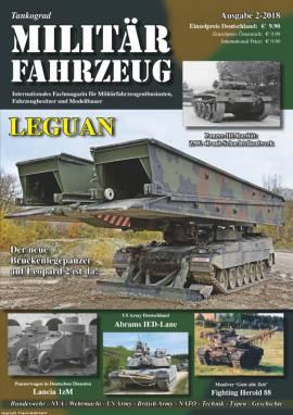 Militärfahrzeugmagazin 2/2018, Tankograd, NEU 3/2018   - Bild vergrößern