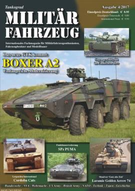Militärfahrzeugmagazin 4/2017, Tankograd,NEU 9/2017   - Bild vergrößern