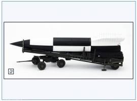 ! PMA0321 V2-Rakete auf Meillerwagen&Starttisch, weiß/schw.,PMA 1:72,NEU& - Bild vergrößern