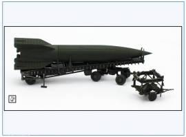 ! PMA0322 V2-Rakete auf Meillerwagen&Starttisch, grün,PMA 1:72,NEU& - Bild vergrößern