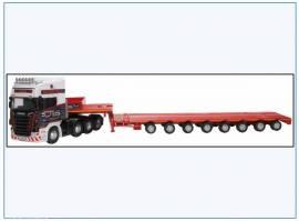 !SCA05LL Scania Topline & Nootboom Tieflader, Oxford 1:76, NEU 2/20 - Bild vergrößern