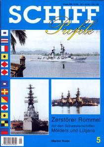 Schiffprofile 05 Zerstörer Rommel und seine Schwesterschiffe, Schiffprofile 5, NEU - Produktbild