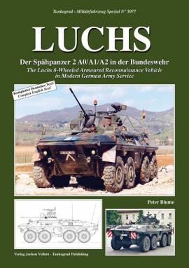 5077 Aufklärungspanzer LUCHS, Tankograd, NEU, AUF LAGER - Bild vergrößern