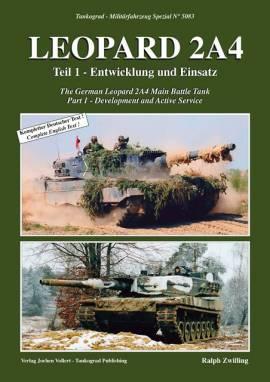 5083 Leopard 2A4 Entwicklung & Einsatz,Tankograd, NEU 3/20 AUF LAGER - Bild vergrößern