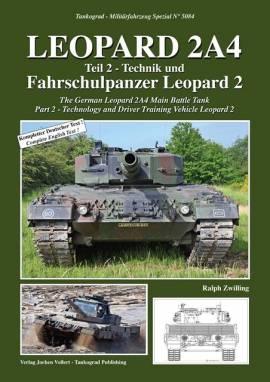 5084 Leopard 2A4 Technik & Fahrschulpanzer,Tankograd, NEU 3/20 AUF LAGER - Bild vergrößern
