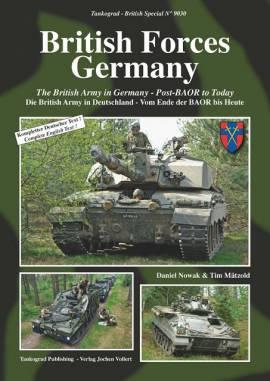 9030 Die British Army in Deutschland, Tankograd NEU, 9/2019 - Bild vergrößern