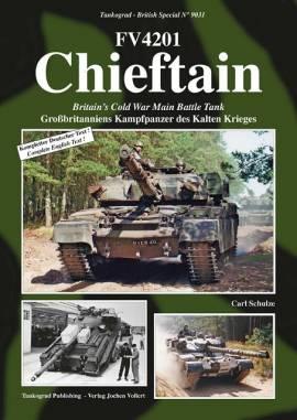 9031 CHIEFTAIN British Main Battle Tank, Tankograd NEU 3/20 AUF LAGER - Bild vergrößern