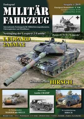 Militärfahrzeugmagazin 1/2019, Tankograd, NEU 11/2018  - Bild vergrößern