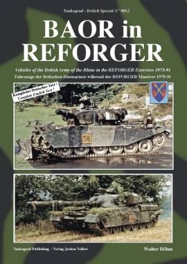 9012 BAOR in REFORGER - Fahrzeuge der British Army of the Rhine - Bild vergrößern