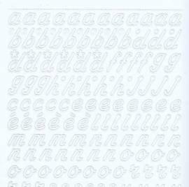 Zier-Sticker-Bogen-0825w-Alphabet-abc-Schreibschrift 2  - Bild vergrößern