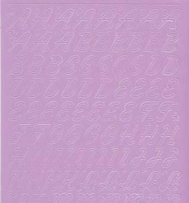Zier-Sticker-Bogen-0826fl-Alphabet-ABC-Schreibschrift 2  - Bild vergrößern