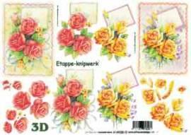3D Etappen-Bogen-4169220-Edle Rosen mit Hintergrund  - Bild vergrößern