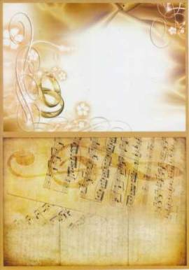 Reddy Creative Cards-Transparentpapier-5303-bedruckt-A4-115g/qm-Hochzeit 2 - Bild vergrößern