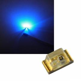 100 Stück SMD LEDs 0603 blau LiteOn LTST-C192TBKT - Bild vergrößern