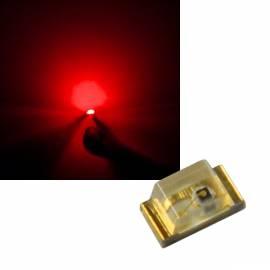 SMD Leds 0603 rot ~627nm 1,9-2,1V 20mA - Bild vergrößern