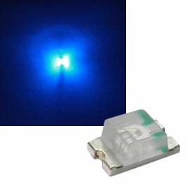 SMD Leds 0805 blau 465-467nm 3,0-3,2V 20mA - Bild vergrößern
