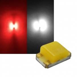 SMD Leds 0805 rot-weiß Typ S0805SRNWY - Bild vergrößern