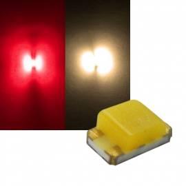 SMD Leds 0805 rot-warmweiß Typ S0805SRWWY - Bild vergrößern