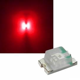 SMD Leds 0805 rot 624-630nm 1,9-2,1V 20mA - Bild vergrößern