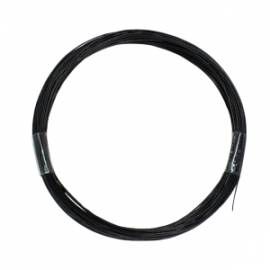 10m flexible Litze SCHWARZ 0,04mm² / 0,5mm, Dekoder - Bild vergrößern