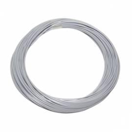 10 Meter flexible Litze / Kabel GRAU 0,09mm² - Bild vergrößern