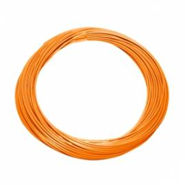 10 Meter flexible Litze / Kabel ORANGE 0,09mm² - Bild vergrößern