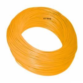 100 Meter Bund Kabel 0,50mm² ORANGE im Karton - Bild vergrößern