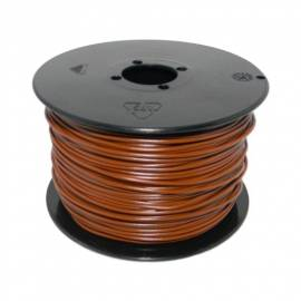 100 Meter flexible Litze / Kabel BRAUN 0,14mm² - Bild vergrößern