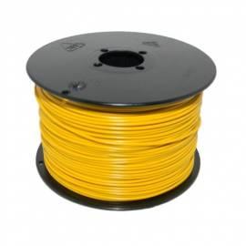 100 Meter flexible Litze / Kabel GELB 0,14mm² - Bild vergrößern