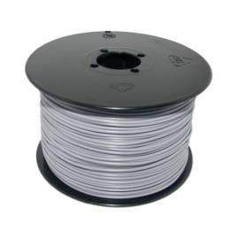 100 Meter flexible Litze / Kabel GRAU 0,14mm² - Bild vergrößern