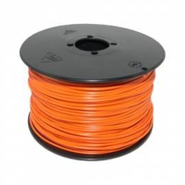 100 Meter flexible Litze / Kabel ORANGE 0,14mm² - Bild vergrößern