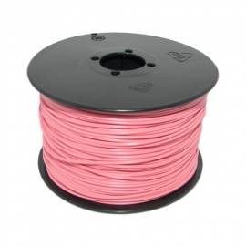 100 Meter flexible Litze / Kabel PINK 0,14mm² - Bild vergrößern