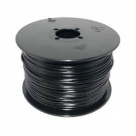 100 Meter flexible Litze / Kabel SCHWARZ 0,25mm² - Bild vergrößern