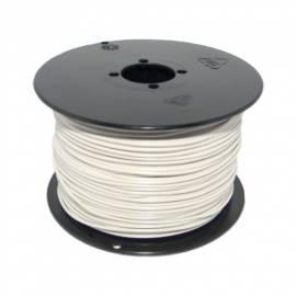 100 Meter flexible Litze / Kabel WEIß 0,14mm² - Bild vergrößern
