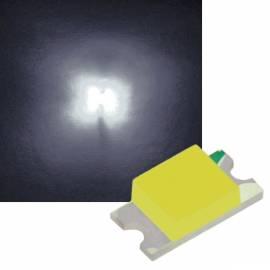 SMD Led 1206 pure weiß ~6000K 2,9-3,2V 20mA - Bild vergrößern